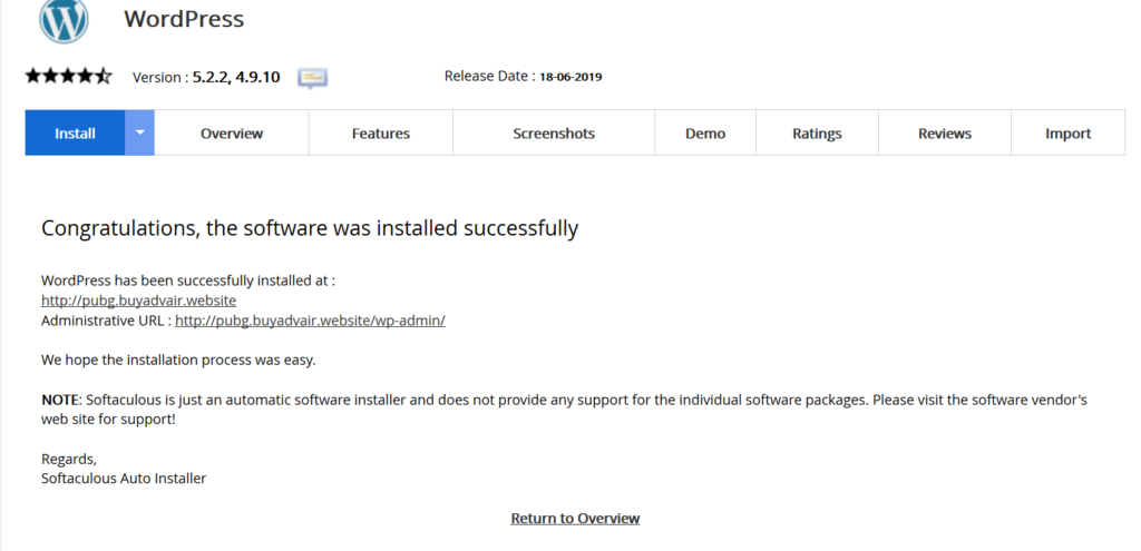 Successfully-installed