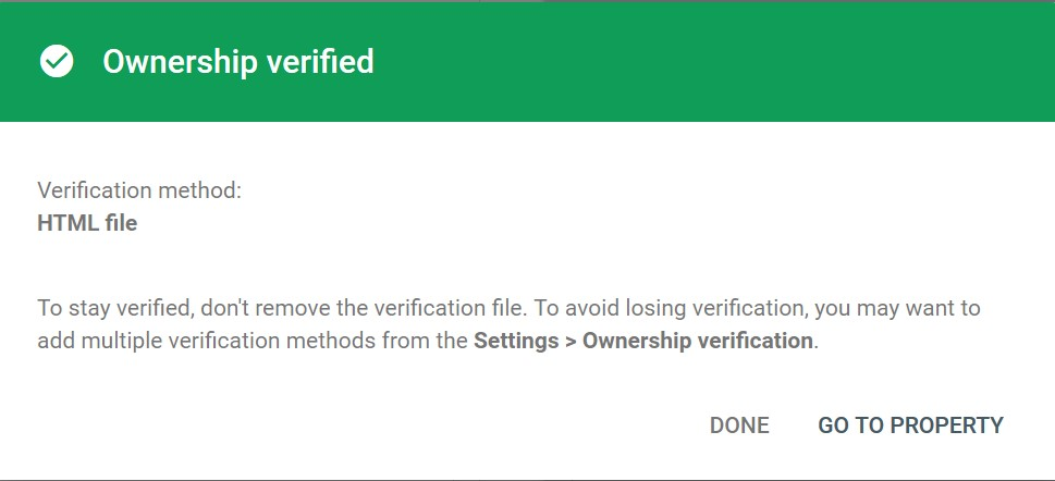 Verified-Successfully-